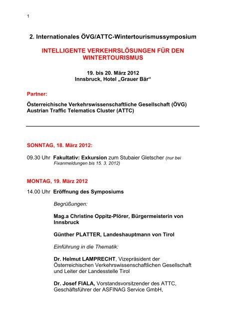 2. Internationales ÖVG/ATTC ... - Seilbahn.net
