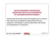 Betriebsleiterseminar April 2005 Zauchensee - Seilbahn.net