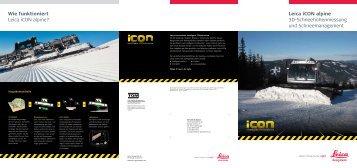 Leica iCON alpine - Leica Geosystems