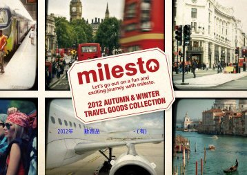 2012 AUTUMN & WINTER TRAVEL GOODS COLLECTION