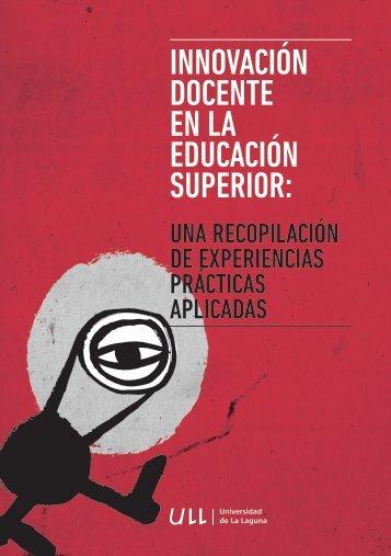INNOVACIÓN DOCENTE EN LA EDUCACIÓN SUPERIOR: