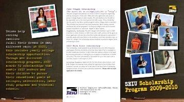 John Geagan Scholarship - SEIU