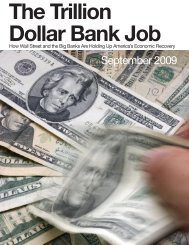 The Trillion Dollar Bank Job - SEIU