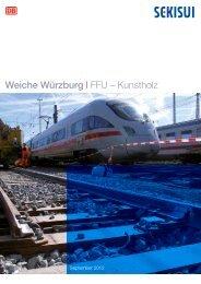 2012 DB-Würzburg Weichen auf FFU