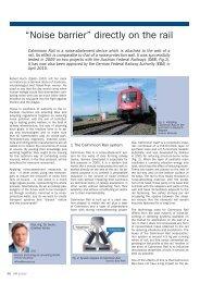 European Rail Technology Review | March 2010
