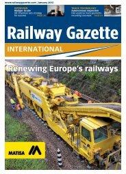 Railway Gazette Int. 1/12