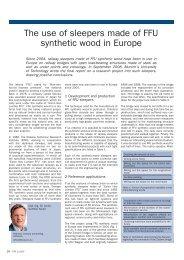 European Rail Technology Review | February 2009
