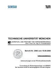Prüfbericht TU München
