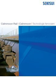 Calmmoon Rail I Calmmoon I Technologie ferroviaire