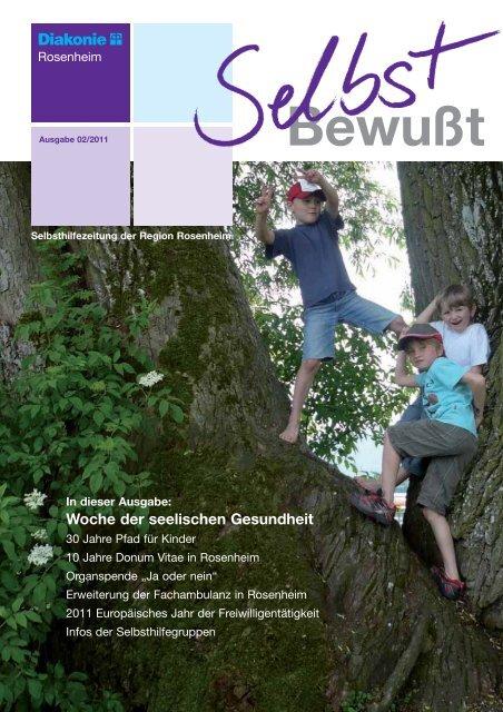 Selbsthilfezeitung der Region Rosenheim - Selbsthilfekontaktstelle ...