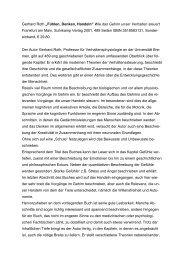 """Gerhard Roth """"Fühlen, Denken,  Handeln"""" - ergotherapie-karlsruhe.de"""