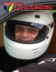 The Official Publication of the Allegheny Region PCA April 2012