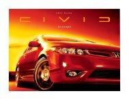 Civic Coupe si Facts sheet.v3.indd - Honda