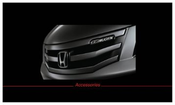 Download An Accord Sedan Mugen Brochure - Honda
