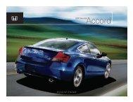 Accord – Honda Cars
