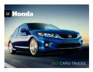 Download Full Line Brochure - Honda