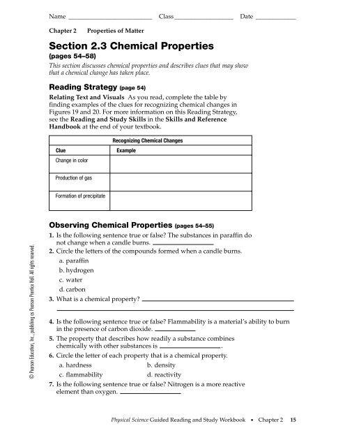 Study Guide 2 3 Barrington High School