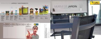 MUEBLE DE JARDÍN - Borras Decomat