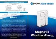 Magnetic Window AlarmMMDA080212E - Halfords
