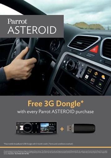 Free 3G Dongle* - Halfords