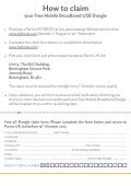 Free 3G Dongle* - Halfords - Page 4