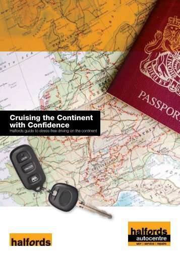 Cruising the Continent with Confidence - Halfords