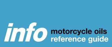 motorcycle oils reference guide - Halfords