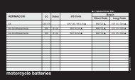 motorcycle batteries - Halfords