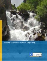 Impianto idroelettrico sul Rio di Malga Ghega - SEL AG