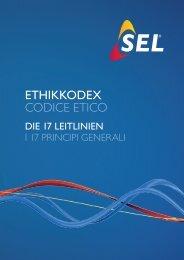 ETHIKKODEX codice etico - SEL AG