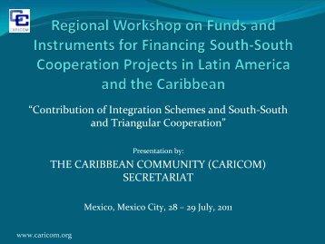 Caribbean Community (CARICOM) - Sela