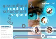 Overzicht vloeistoffen AOSEPT® PLUS - CIBA Vision Benelux