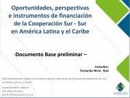 Sesión Introductoria. Presentación del Estudio sobre Fondos ... - Sela