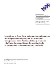 La crisis en la Zona Euro, su impacto en el proceso de ... - SELA