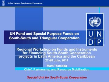 United Nations Fund for South-South Cooperation - SELA