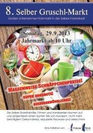 8.Selber Gruschl-Markt - selb-live.de