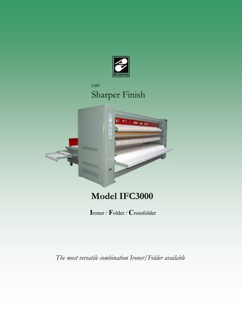 Sharper Finish Model Ifc3000 Cmv Sharper Finish