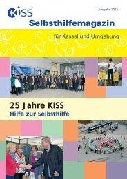 25 Jahre KISS Selbsthilfemagazin - Kontakt- und Informationsstelle ...