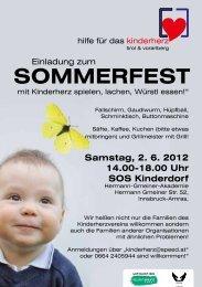 SOMMERFEST - Selbsthilfe Tirol