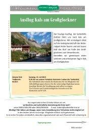 Einladung und Programm - Selbsthilfe Tirol