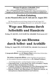 Monatstreffen_29 _Juli_2011_plus_26_August ... - Selbsthilfe Tirol