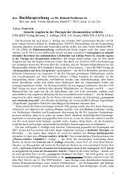 Betr.: Buchbesprechung von Dr. Roland Pechlaner ... - Selbsthilfe Tirol