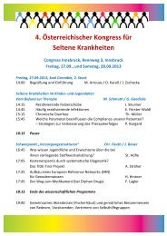 20130928_Programm.pdf - Forum Seltene Krankheiten