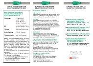 Fortbildung 2012 - Selbsthilfe Tirol