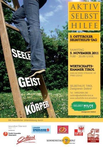 Programm - Selbsthilfe Tirol