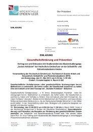 Einladung zur Veranstaltung - Selbsthilfe und Patientenakademie