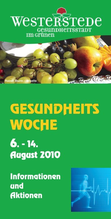 Gesundheitswoche_AmmerlandKlinik.pdf - Selbsthilfe und ...