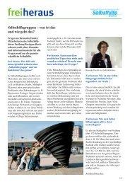 pdf download - Selbsthilfegruppen in Freiburg