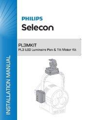 PL3 Pan & Tilt Motor Kit - Selecon