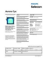 Aurora Cyc - Selecon
